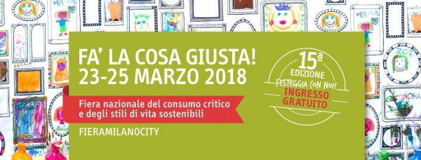 """Free Wheels Onlus will be at """"Fa' La Cosa Giusta 2018"""" to present the Way of St Benedict, a project developed under OpenUpRoutes!"""